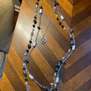 "Lia Sophia ""The Girls"" necklace"